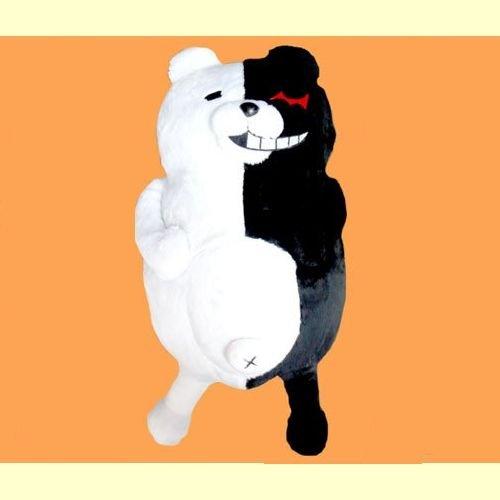 ダンガンロンパ 希望の学園と絶望の高校生 The Animetion モノクマBIGぬいぐるみ  【モノクマ(微笑み)】単品