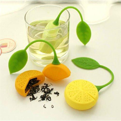 Silicone Mesh Loose Spice Herbal Tea Bag Leaf Infuser Strainer Filter