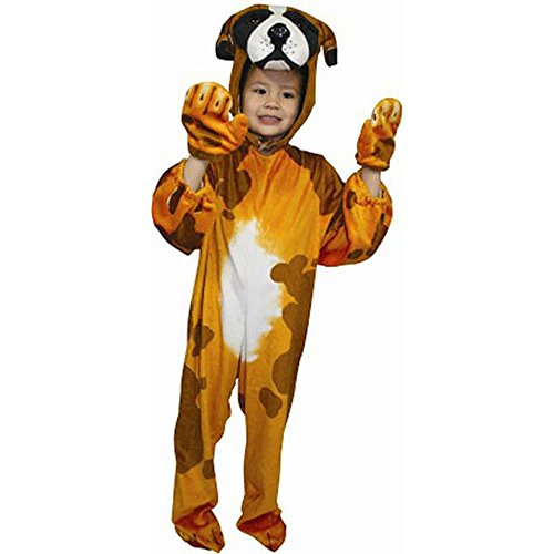 Child's Cute Puppy Dog Kid's Halloween Costume XS (Dog Costumes For Kids)