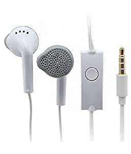 JIYANSHI Asus Zenfone 2 Deluxe Compatible Earphone Handsfree White With Super Sound