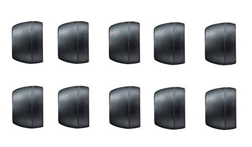 Click to buy Generic 5 Pair Replacement Earbuds Cushions Ear Tips Gels - Large - Black - From only $12
