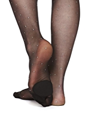 Hi Heel™ Hosiery Cushioned 10 Denier Spotted Tights
