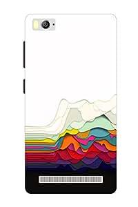Accedere Printed Back Cover For Xiaomi Mi 4i