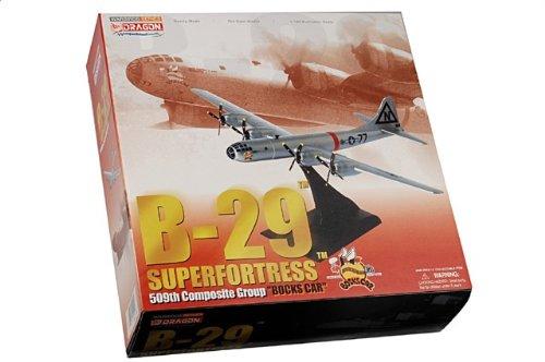 """1:144 ドラゴンモデルズ 戦闘機 51002 ボーイング B-29 Superfortress ディスプレイ モデル USAAF 509th Composite グループ """"Bocks Car"""""""