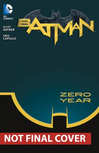 Batman Vol 4 Zero Year-secret City The 52 at Gotham City Store