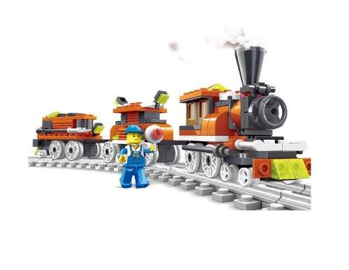 Train Toys For Boys : Lego on sale train toy building blocks pcs set
