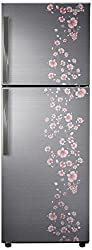Samsung RT27HAJSALX Frost-free Double-door Refrigerator (253 Ltrs, 3 Star Rating, Orcherry Peach Silver)