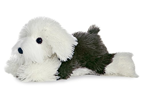 "Aurora World Flopsie 12"" Sheep Dog Edwin"