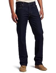 Levi\'s Men\'s 505 Regular Fit Jean, Rinse, 34x32