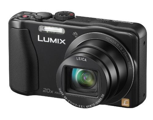 Panasonic Lumix DMC-TZ35EB-K Compact Camera - Black (16.1MP, 20x Optical Zoom Leica DC Lens, 24mm Wide Angle, Full HD Video - AVCHD) 3 inch LCD