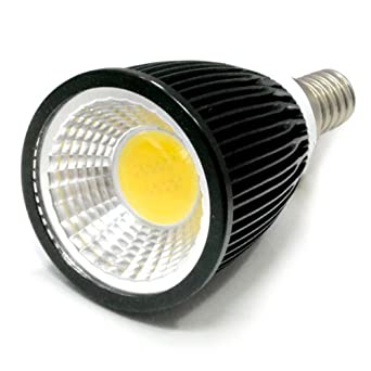 zono super brightness black led e14 10w cob led spot. Black Bedroom Furniture Sets. Home Design Ideas