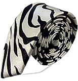 Slim pattern Satin narrow tie ties - Various Colours