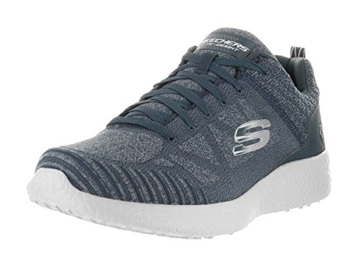 Skechers Men's Burst - Deal Closer Extra Wide Navy/Gray Running Shoe 11 3E Men US (Mens Extra Wide Running Shoes compare prices)