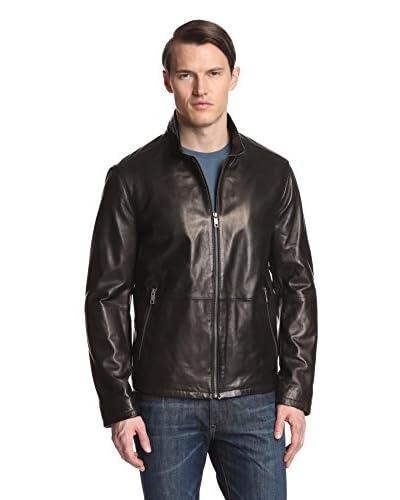 Andrew Marc Men's Garrett Stand Collar Jacket