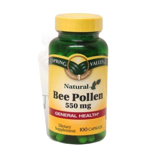 Diet pills bee pollen levels