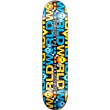 World Industries Character Character Stripe Skateboard Deck (7.5)