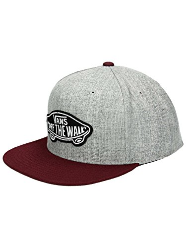 Cappellino Snapback Vans Classic Patch Heather Grigio-Port Royale (Default , Grigio)