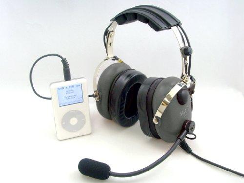 Skylite Sl-900M Aviation Mp3 Headset (Grey)