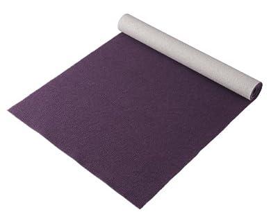 """Bausinger Yogaset: Yogamatte """"Die junge Matte"""", Florhöhe 5mm, 80x200 cm, aubergine, mit passender Yogatasche"""