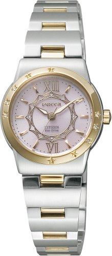 CITIZEN (シチズン) 腕時計 wicca ウィッカ Eco-Drive エコ・ドライブ プリンセスウィッカ NA15-1441C レディース