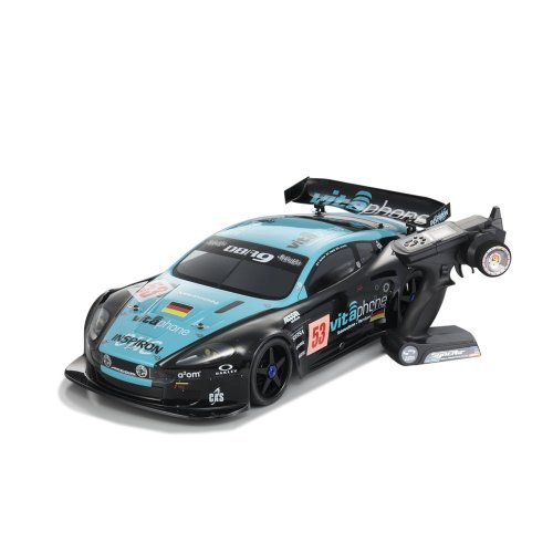 Kyosho Inferno GT2 Race Spec VE Brushless 1/8th Scale Car w/Aston Martin Body