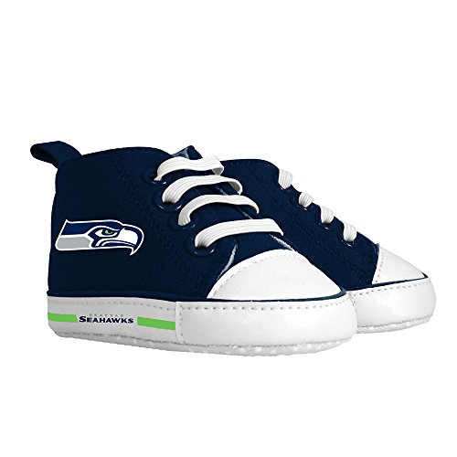 Baby Fanatic Pre-Walker Hightop, Seattle Seahawks - 1