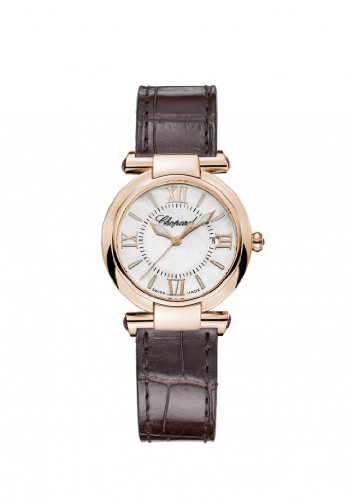 Womens Chopard Imperiale 28 Mm Watch 18-karat Rose Gold and Amethysts 384238-5001