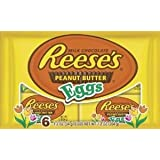 Reese's Peanut Butter Eggs 1.2 oz 6-pack (2 Packages)