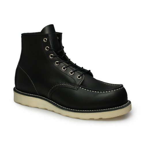 Red Wing Shoes Schwarz Classic Trac Tred Wedge Boots