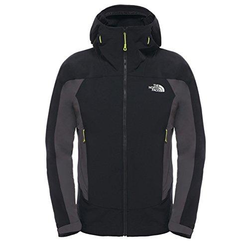 The North Face uomo M Purg atory Hooded Jacket giacca, Uomo, Jacke M Purgatory Hooded Jacket, Tnf Black/Asphalt Grey, XL