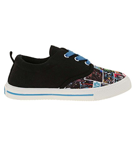 Star-Wars-The-Clone-Wars-Darth-Vader-Jedi-Yoda-Chicos-Zapatillas-2016-Collection-Negro