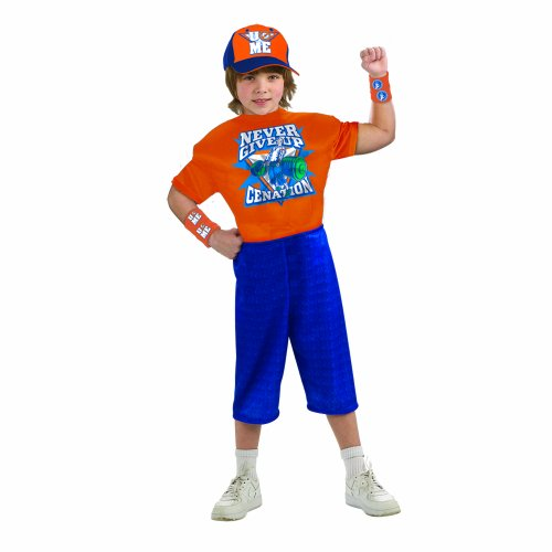 World Wrestling Entertainment Deluxe Child's Muscle Chest Costume, John Cena Costume