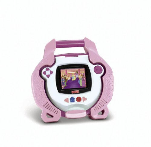 Fisher-Price Kid Tough Portable Dvd Player Pink