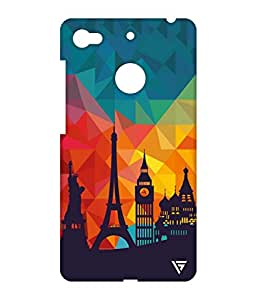 Vogueshell Graffiti Design Printed Symmetry PRO Series Hard Back Case for LeEco Le 1s