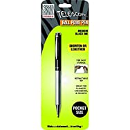 Telescopic Ball-Point Black Pen-BLK TELESCOPIC BP PEN