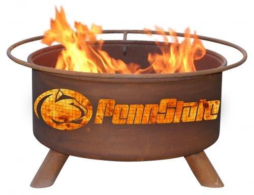 Penn State Nittany Lion Patina Fire Pit