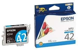 EPSON インクカートリッジ シアン [ICC42]