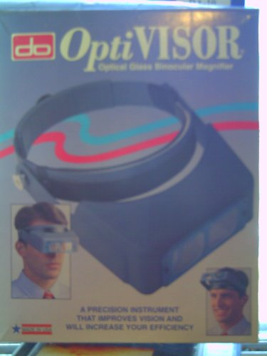 Opti Visor Optical Glass Binocular Magnifier