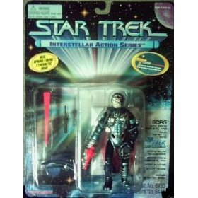 "Star Trek the Next Generation Borg 4.5"" Action Figure - 1"