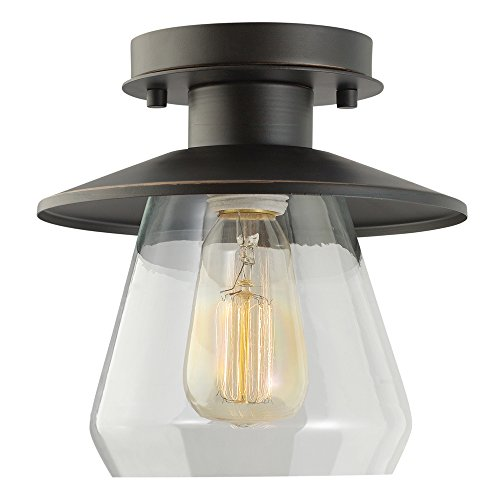 globe-electric-vintage-semi-flush-mount-ceiling-light-oil-rubbed-bronze-finish-clear-glass-shade-1x-
