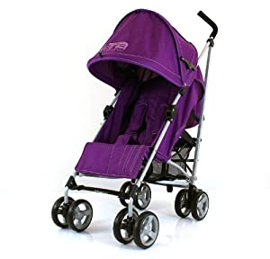 Zeta Vooom Stroller (Plum) from Zeta
