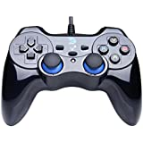 ZD V Plus Full Vibration Feedback USB Wired Controller Gamepad Joystick For PC(Windows XP/7/8/8.1/10) & Android & PlayStation 3 (PS Architecture) - Not support the Xbox 360
