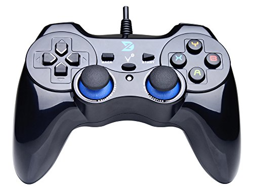ZD-V-Vibration-Feedback-USB-Wired-Gamepad-Controller-Joystick-Support-PCWindows-XP788110-PS3-Android-PS-architecture-Black
