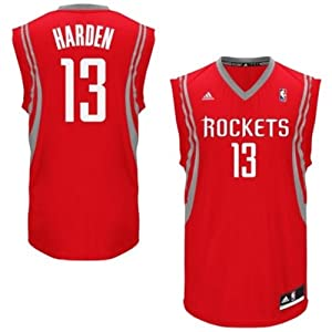 James Harden Houston Rockets New 2013-2014 Revolution 30 Youth Jersey Red by adidas
