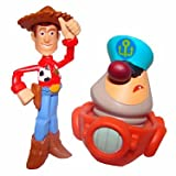 Toy Story Color Splash Buddies Hat Tip Woody and Captain 2-Pack