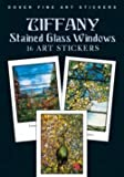 img - for Louis Comfort Tiffany: Tiffany Stained Glass Windows : 16 Art Stickers; 2001 Edition book / textbook / text book
