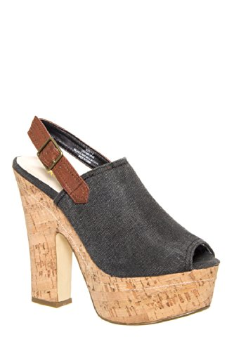 Well Done High Wedge Sandal