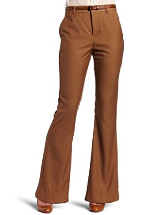 BB Dakota Women's Hadley Pant, Camel Hair, 0