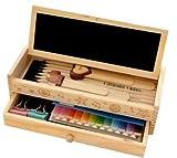 櫻文庫木製ペンケース黒板消しチョークブサ可愛い動物ペン付5点セット