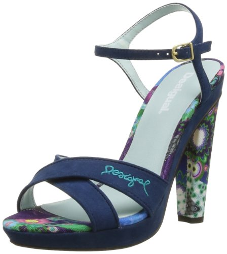 DESIGUAL Womens Sandalia Tacón Alto 1 Flip-Flops 41SS252312539 Flox 6 UK, 39 EU